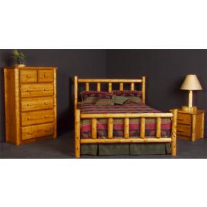 Northwoods Log Bed