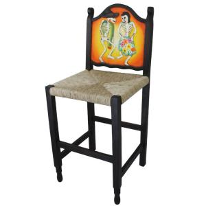 Dancing Skeletons Bar Stool