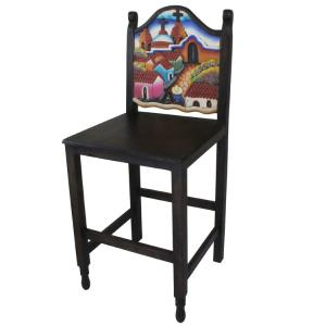 Pueblo Bar Stool # 1
