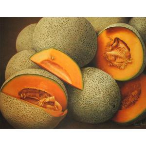 CantaloupeOil Painting on Canvas