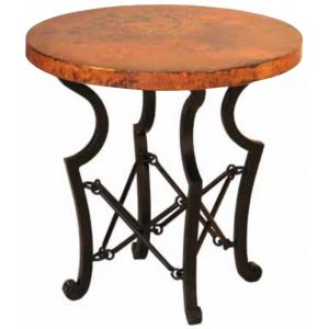 Round Truss End Table