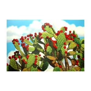 Prickly PearOil Painting on Canvas