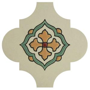 Madrid White Spanish Shape Tile