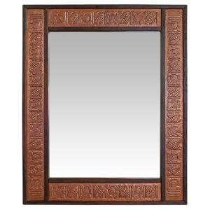 Janitzio Copper Mirror