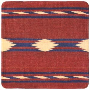Wool Throw Pillow: Zapotec Design PM2