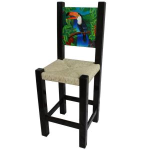 Painted Toucan Bar Stool