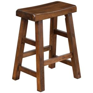 Santa Fe Saddle Seat Stool