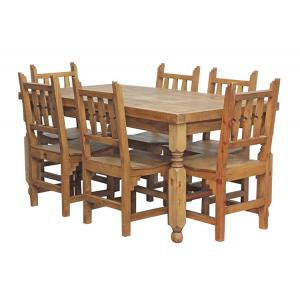 Lyon Dining Setw/ New Mexico Chairs