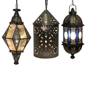Mexican Rustic Tin Lighting Fixtures Style D Cor