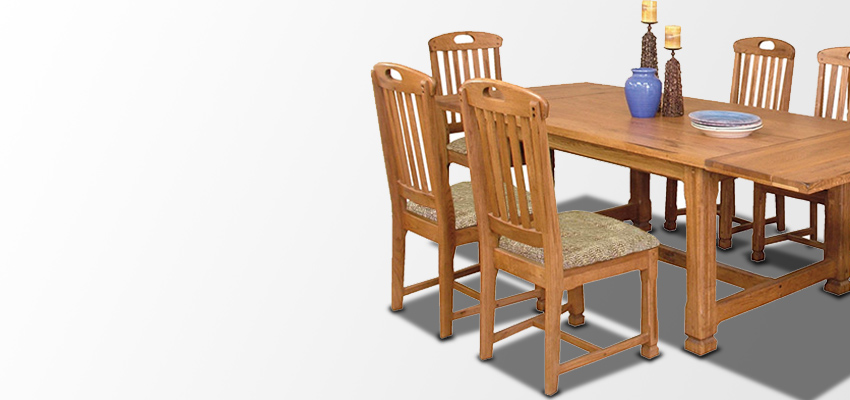 Rustic Dining Room Furniture - Mexican Dining Table and Chairs