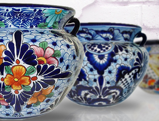 Mexican Talavera Plates & Dinnerware Sets - Mexican Pottery